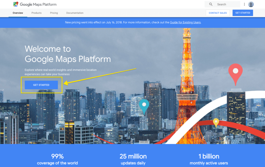 Get Started Setting Up a Google Maps Project