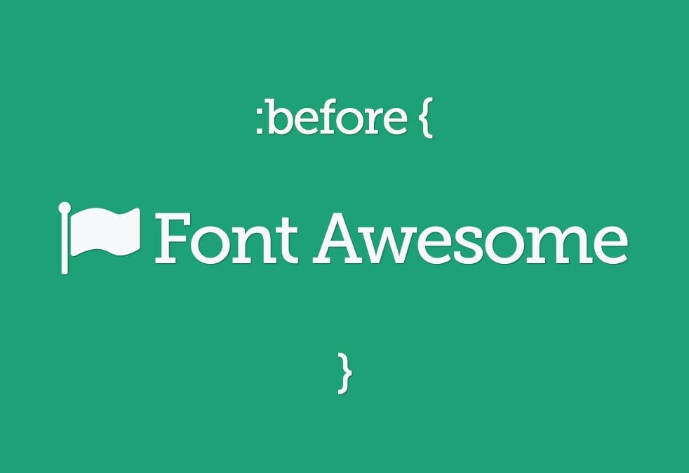 What are Font Awesome's Pseudo Elements   nvision