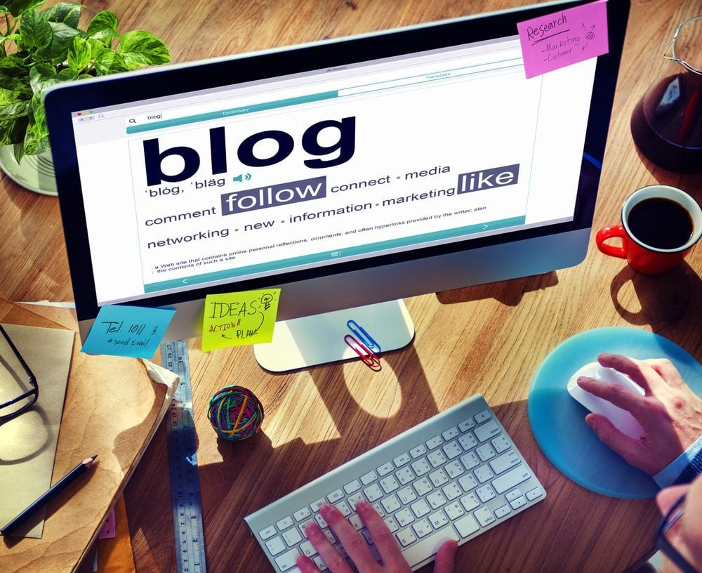 Screen of how to get people to read blog posts | nvision
