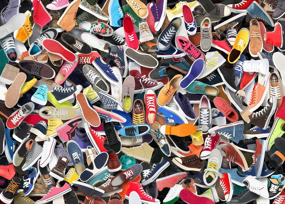 A pile of shoes why to be building a social media community | nvision