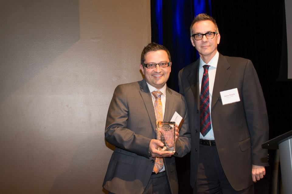 NVISION CEO, George Arabian Awarded the 2014 YPC Aspire Award