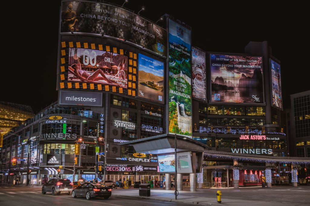 Downtown Toronto Billboards.Satisfied customers act as billboards to refer your business to friends! Here's how referral marketing can help you boost your brand.